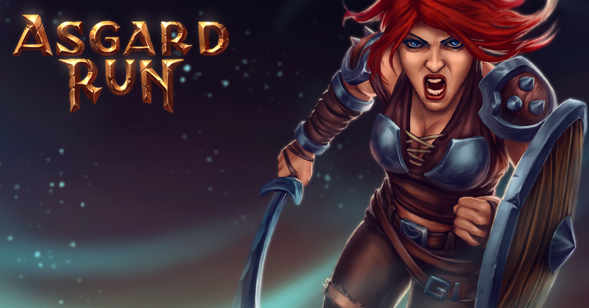 Asgard Run Astrid Character