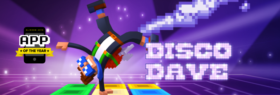 Vote for Disco Dave in App of The Year!