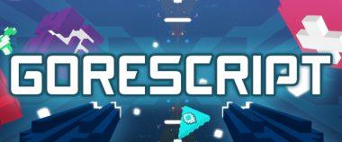 gorescript indie fps game logo