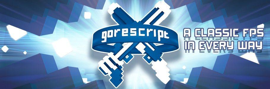 Gorescript Launch Banner